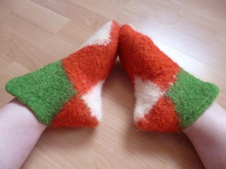 Palatossut - 8-square slippers