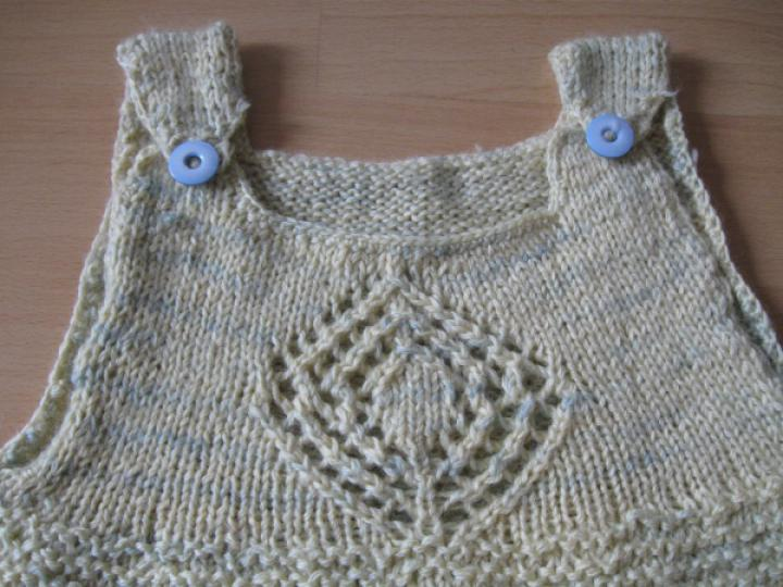 Baby Bag with crochet edging