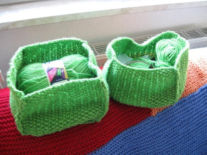 Flip flop baskets