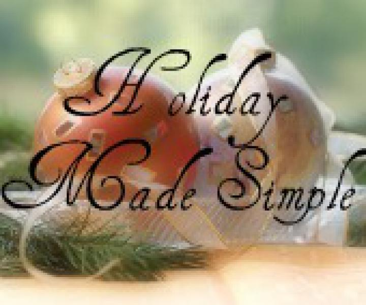 Holiday Made Simple