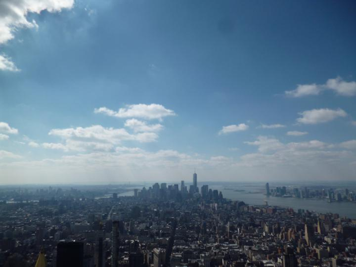 Downtown Manhattan from the Empire State Buidling