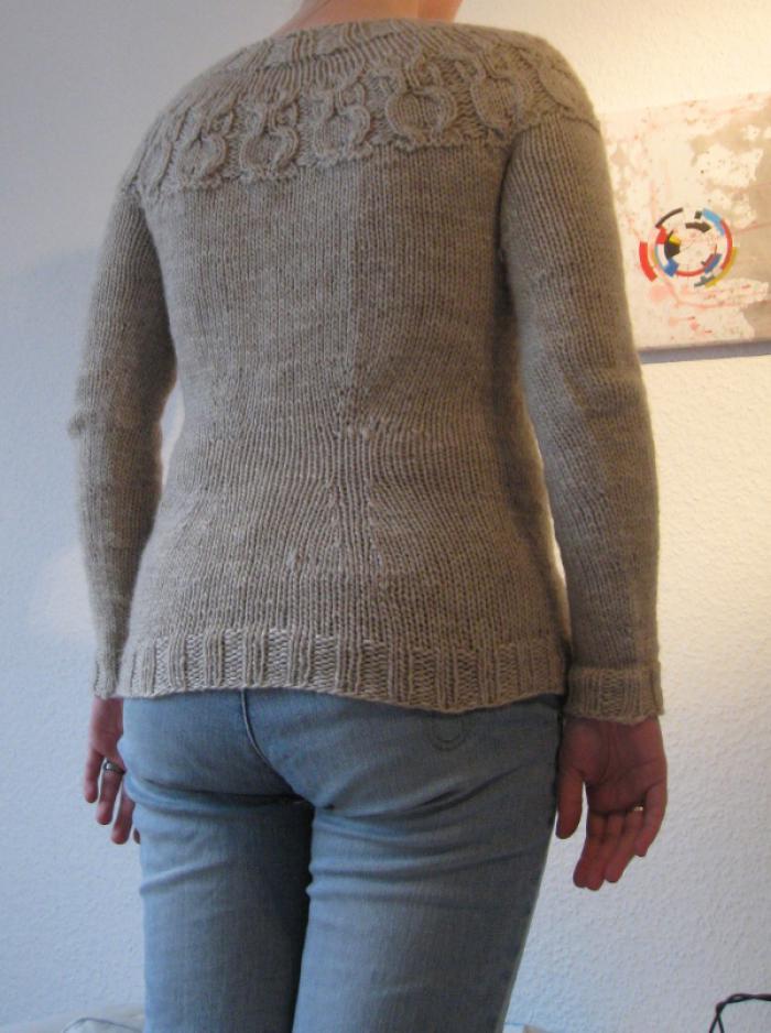 Owls sweater