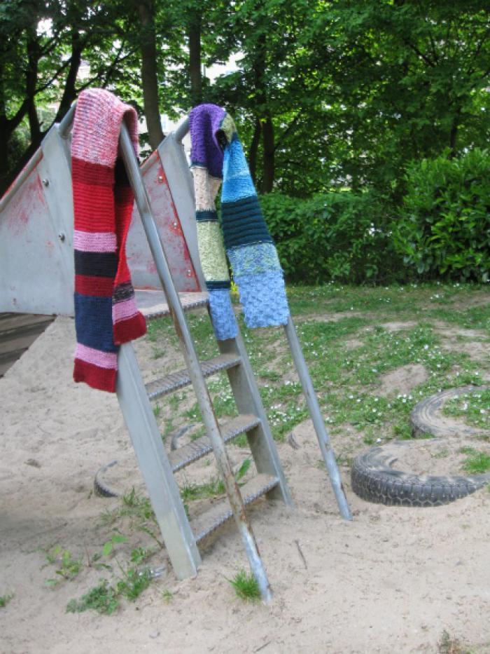 Stashbusting scarves