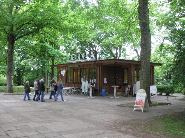 Milchhäuschen in Bochum Stadtpark