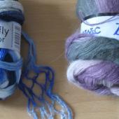 Ruffle yarn
