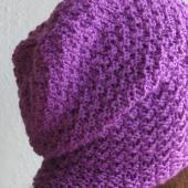 Lila hat